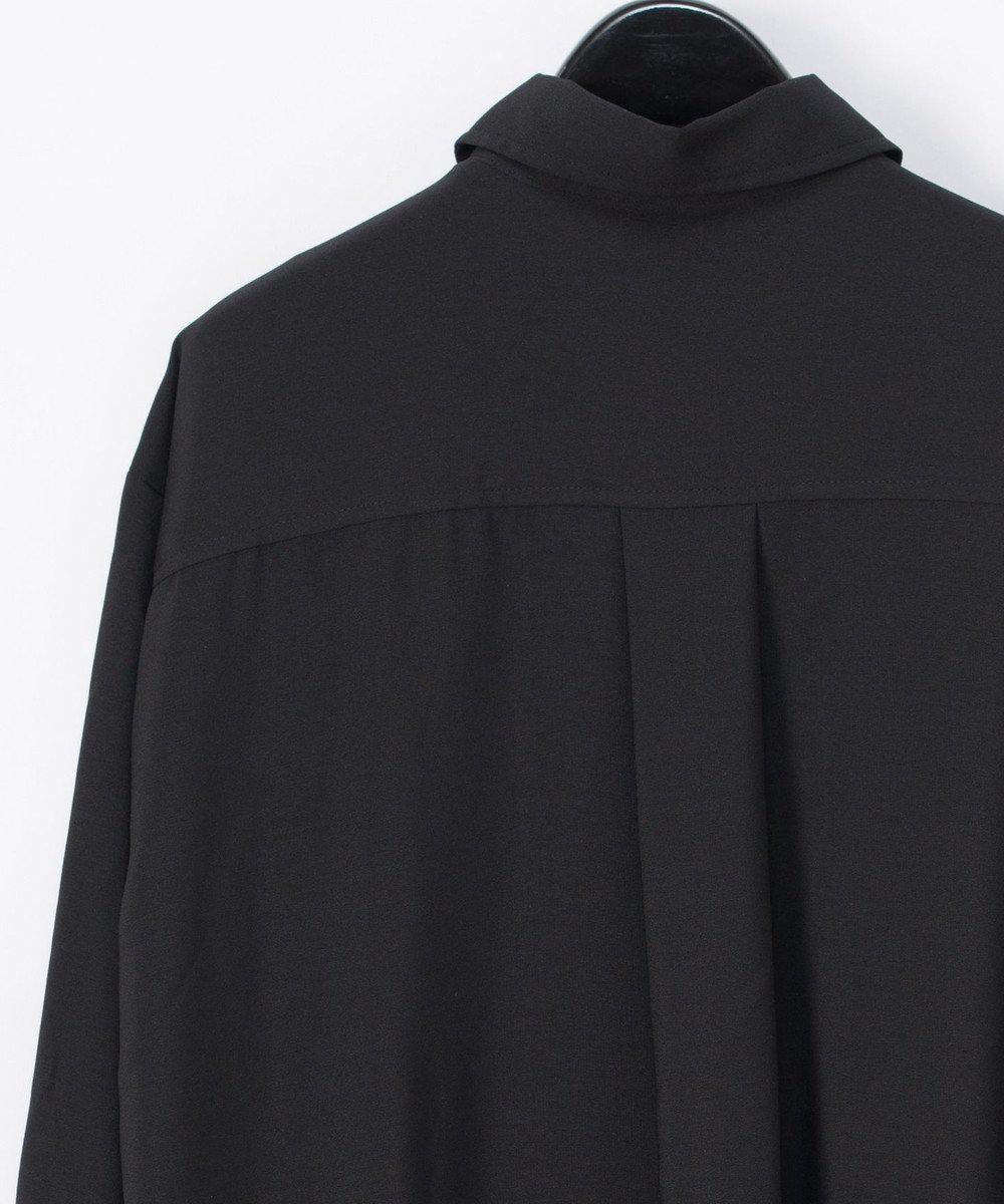 GRACE CONTINENTAL カットワークシャツチュニック ブラック
