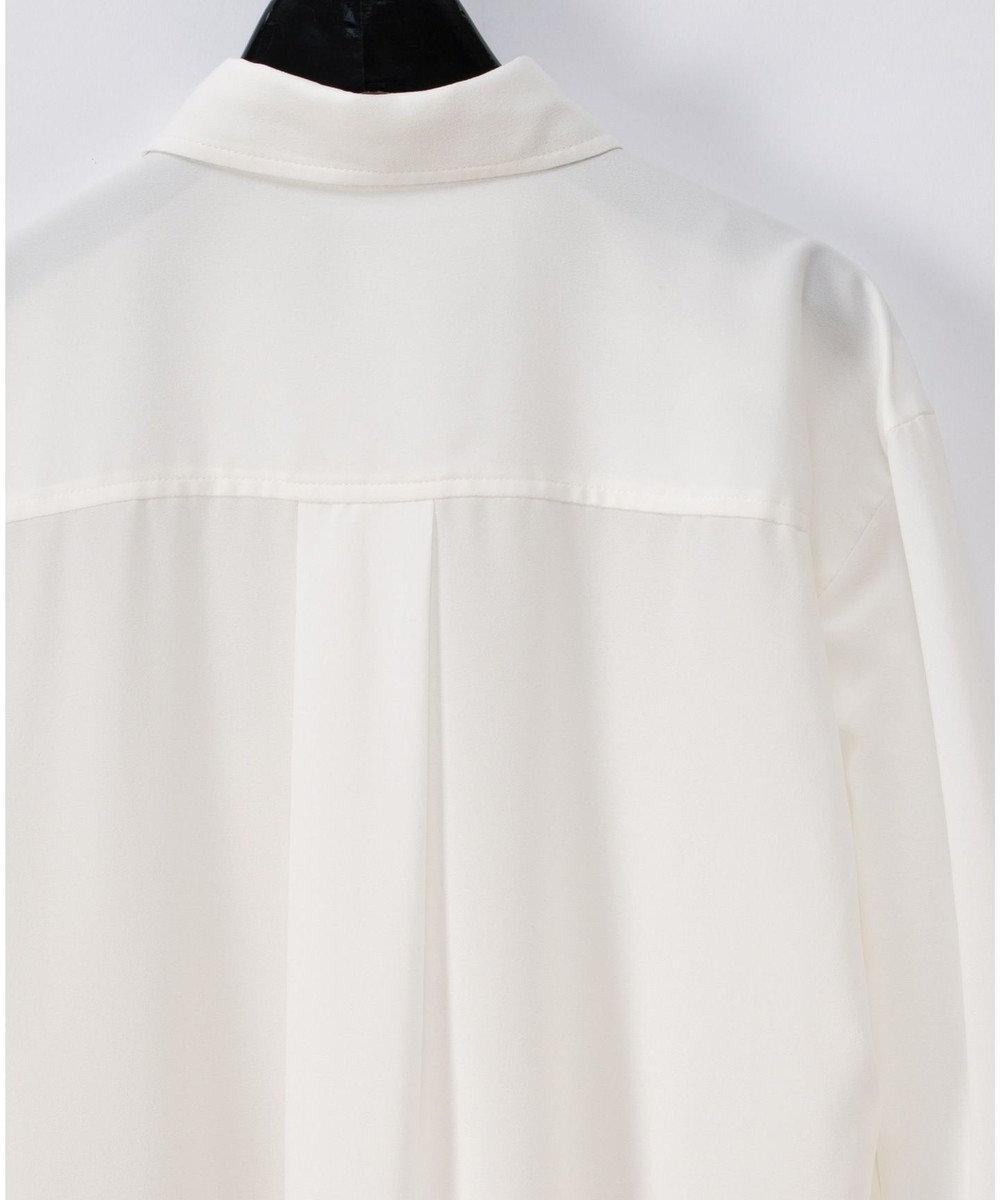 GRACE CONTINENTAL カットワークシャツチュニック ホワイト