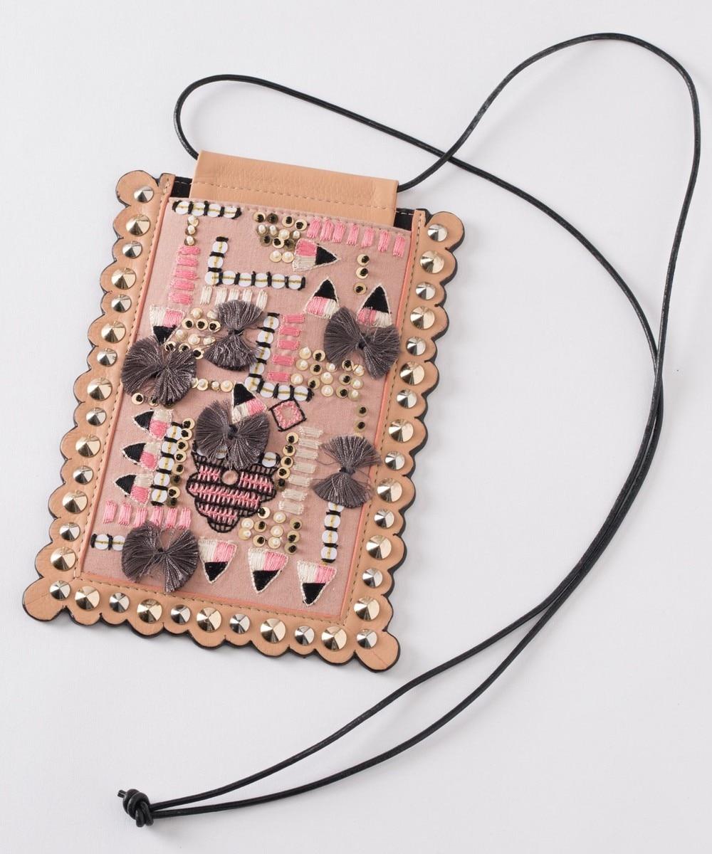 刺繍モバイルショルダー