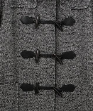 GRACE CONTINENTAL ウールダッフルコート ブラック