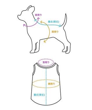 GRACE CONTINENTAL DOGWEAR-ワンピース3 パープル