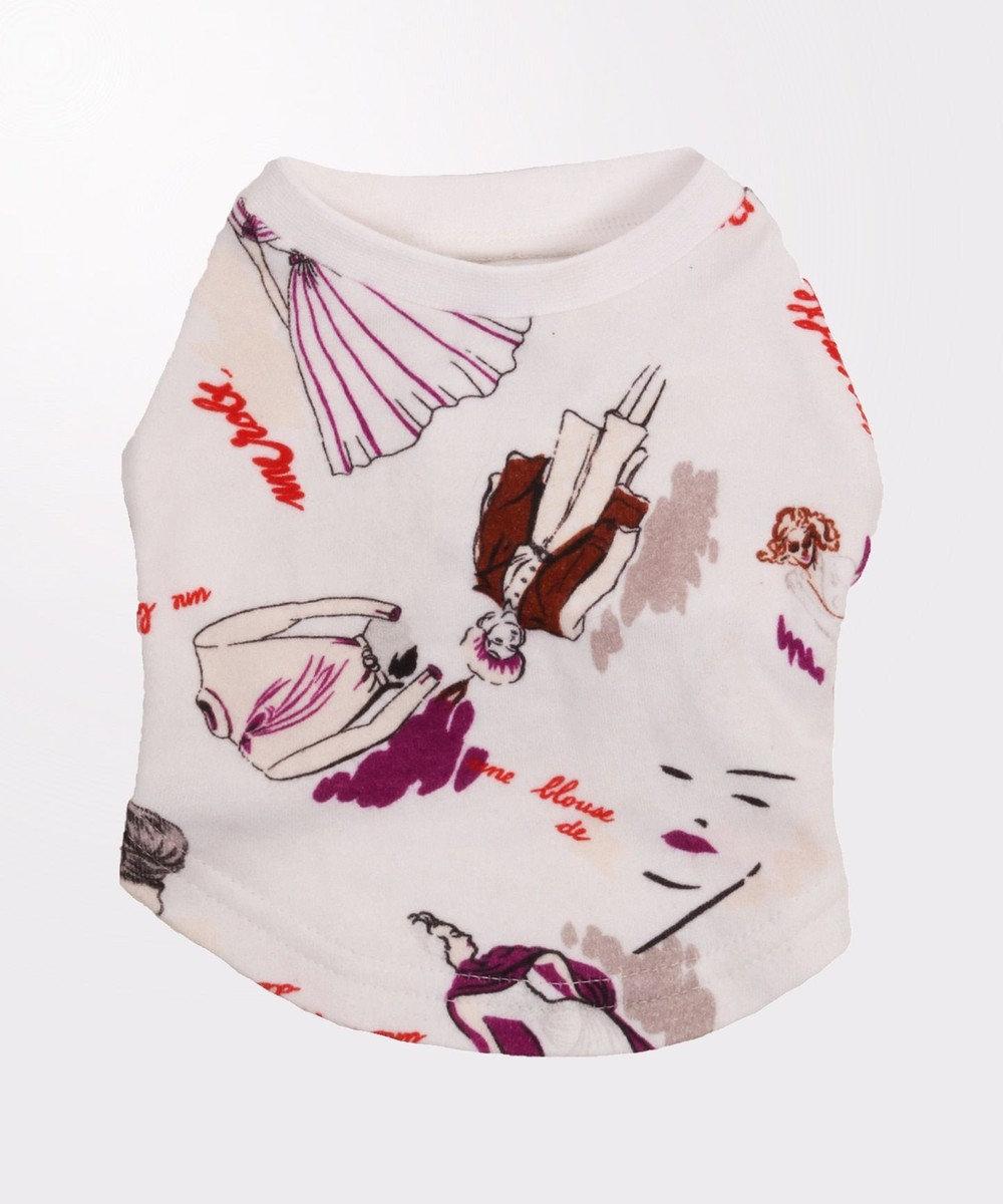 GRACE CONTINENTAL DOGWEAR-Tシャツ1 ホワイト