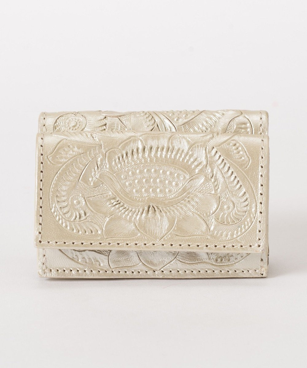 GRACE CONTINENTAL Small Wallet-19SS パールホワイト