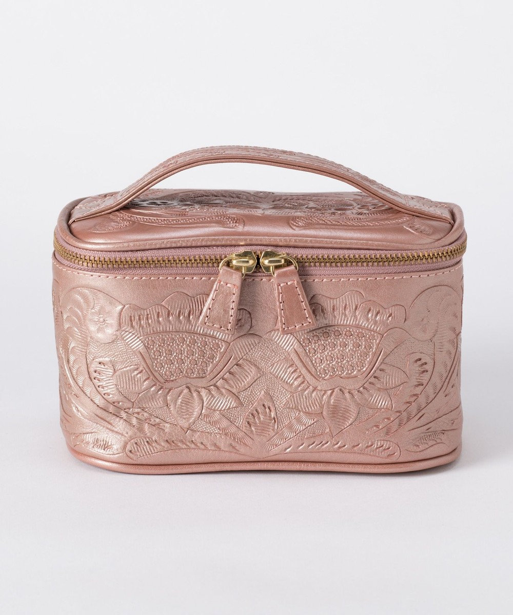 GRACE CONTINENTAL Vanity Pouch ピンクゴールド