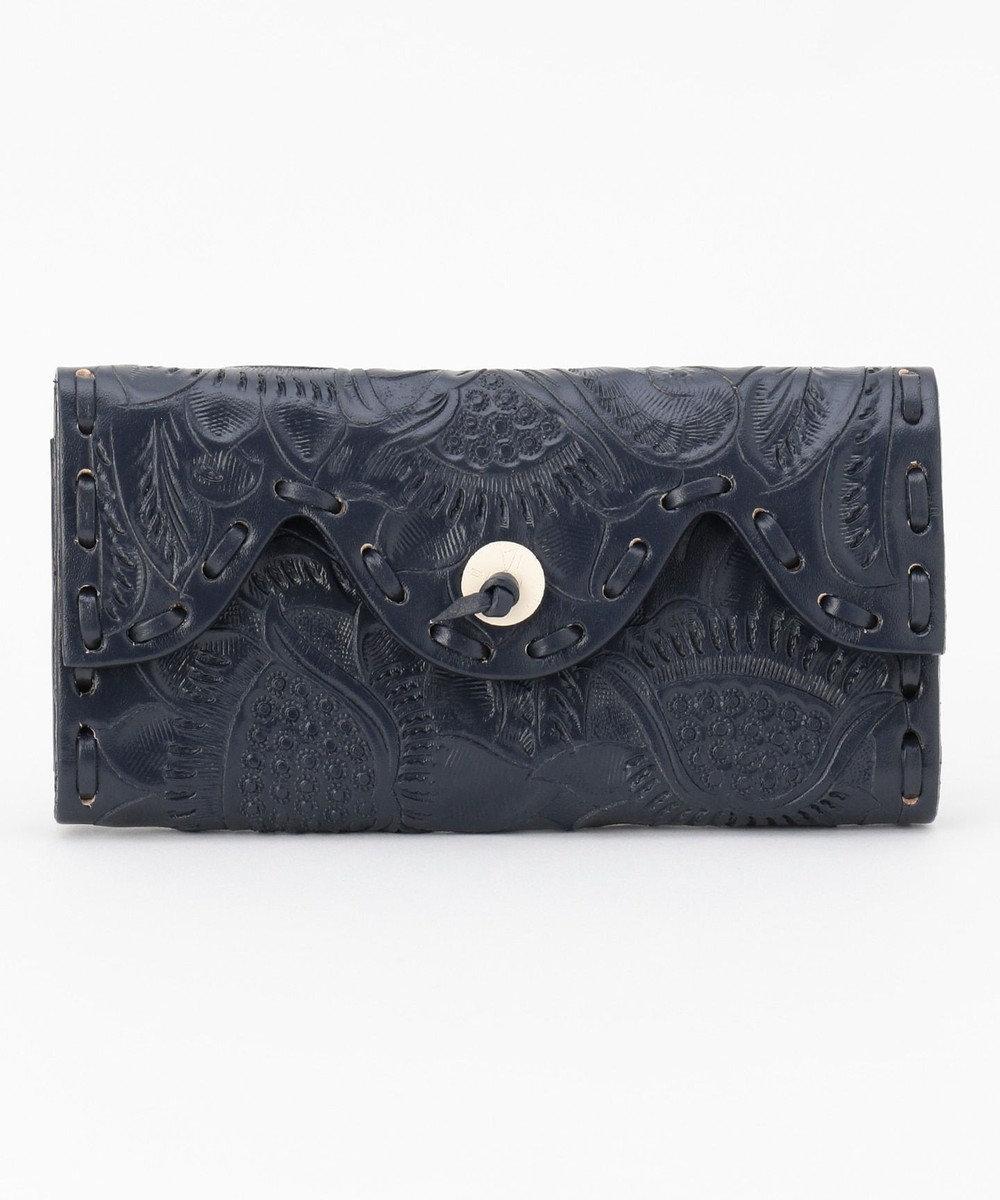 GRACE CONTINENTAL Flap Wallet 20AW-2 ネイビー