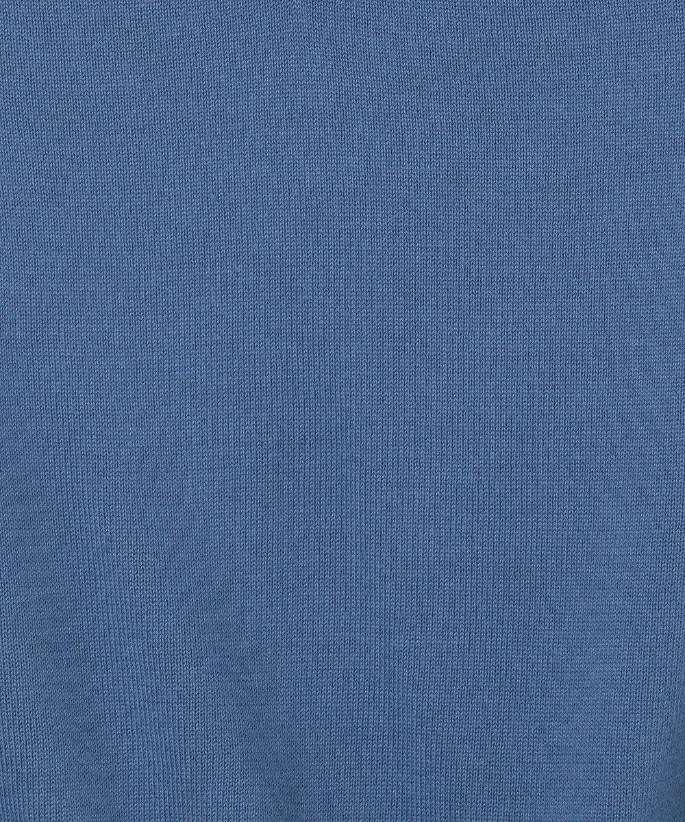 GRACE CONTINENTAL Vネックニットトップ ブルー