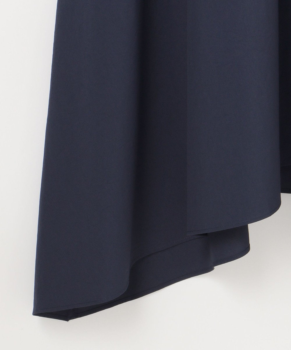GRACE CONTINENTAL ベルテッドシャツワンピース ネイビー