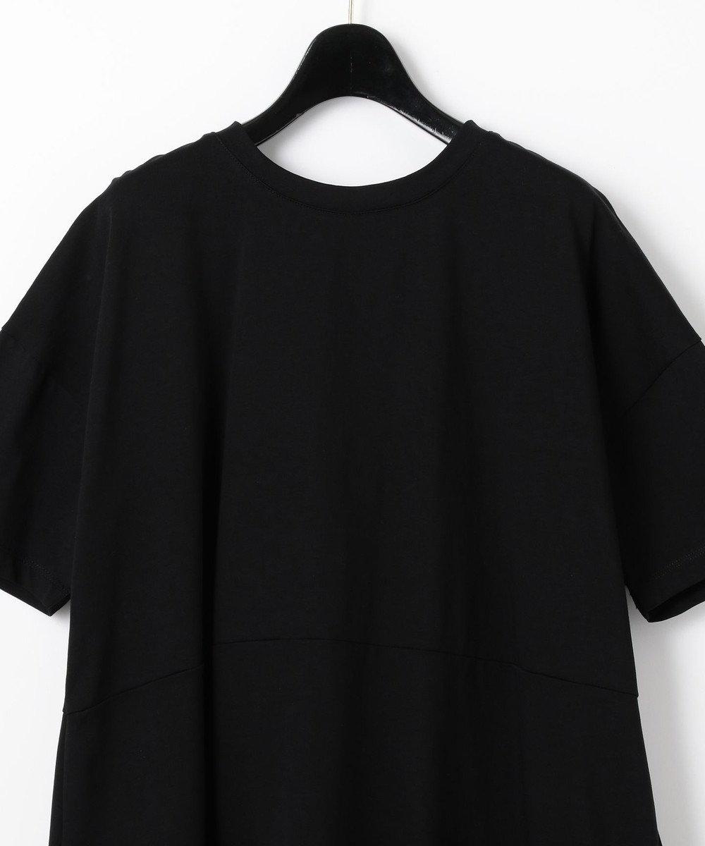 GRACE CONTINENTAL タフタリボンチュニック ブラック