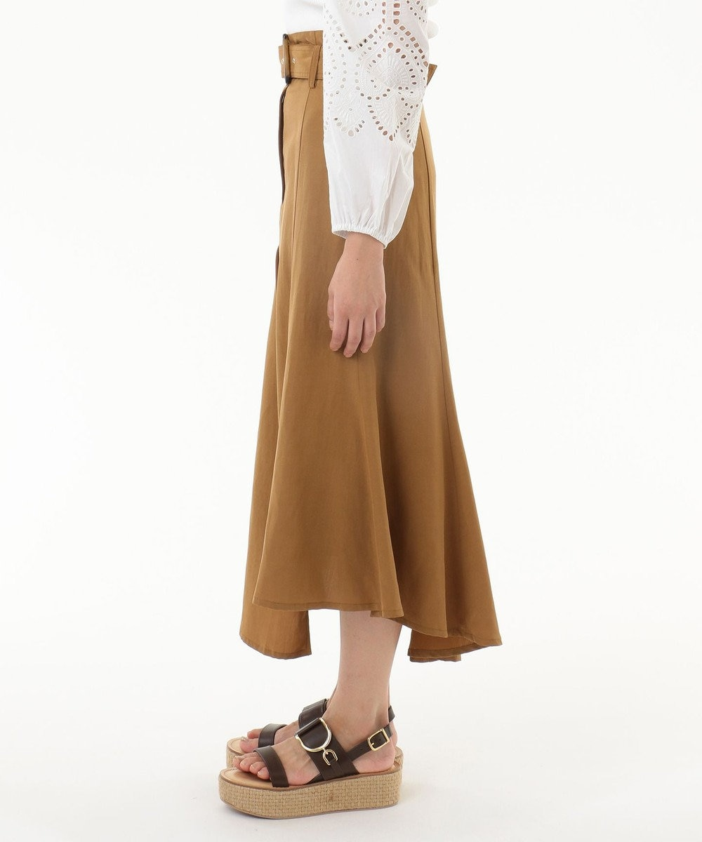 GRACE CONTINENTAL イレギュラーマーメイドスカート キャメル