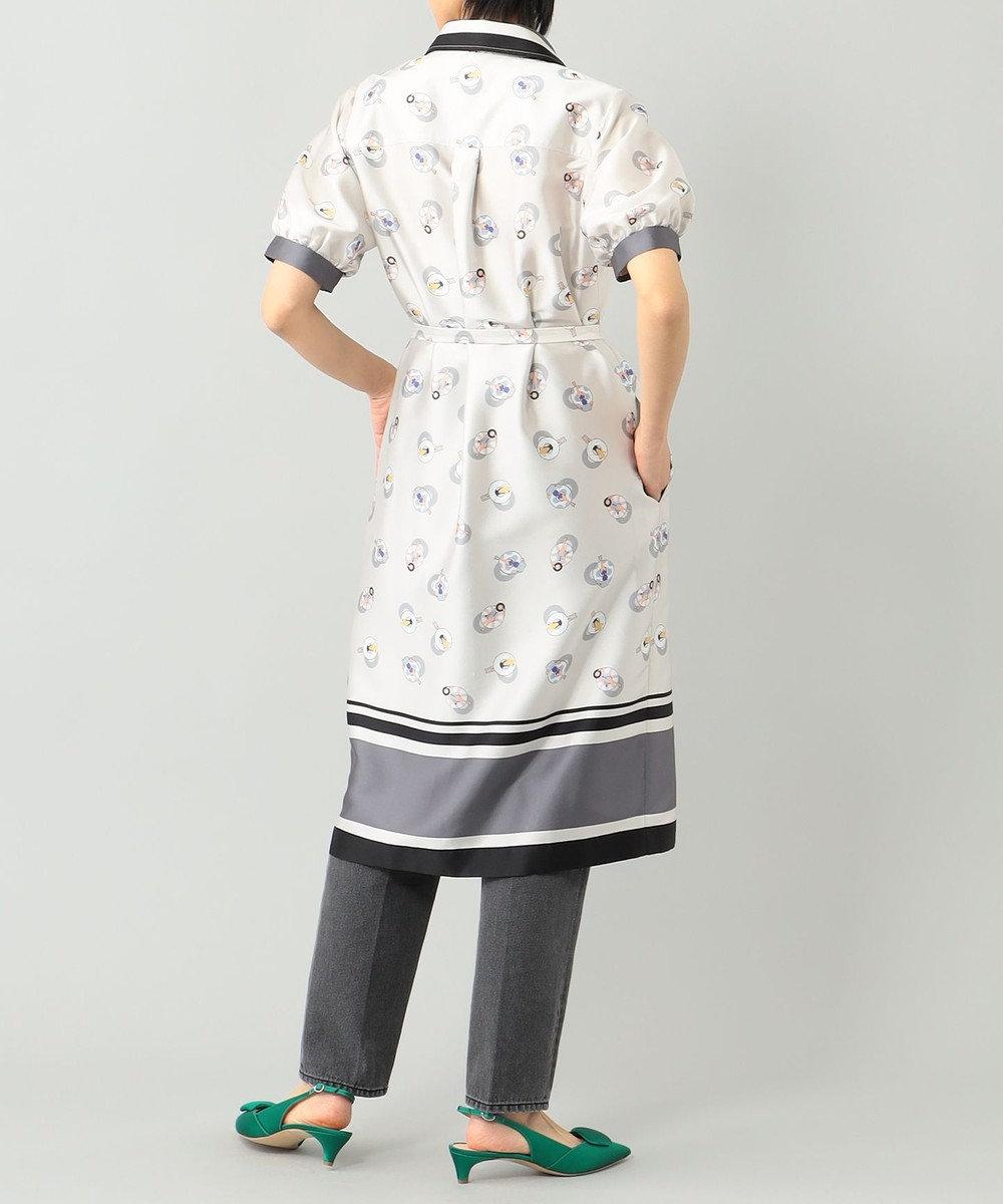 GRACE CONTINENTAL プールサイドシャツワンピース ベージュ