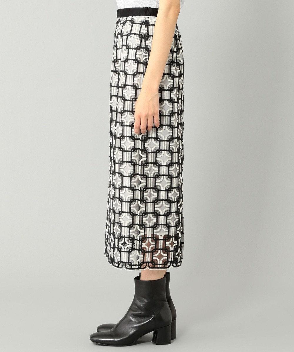 GRACE CONTINENTAL キカembチュールスカート ブラック