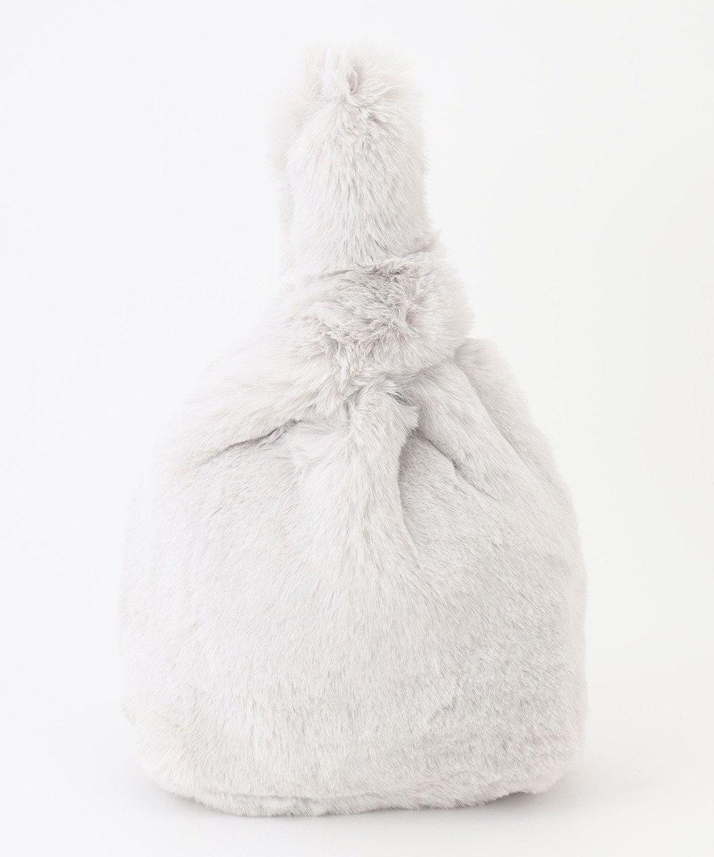 GRACE CONTINENTAL マルシェエコファーバッグ ホワイト