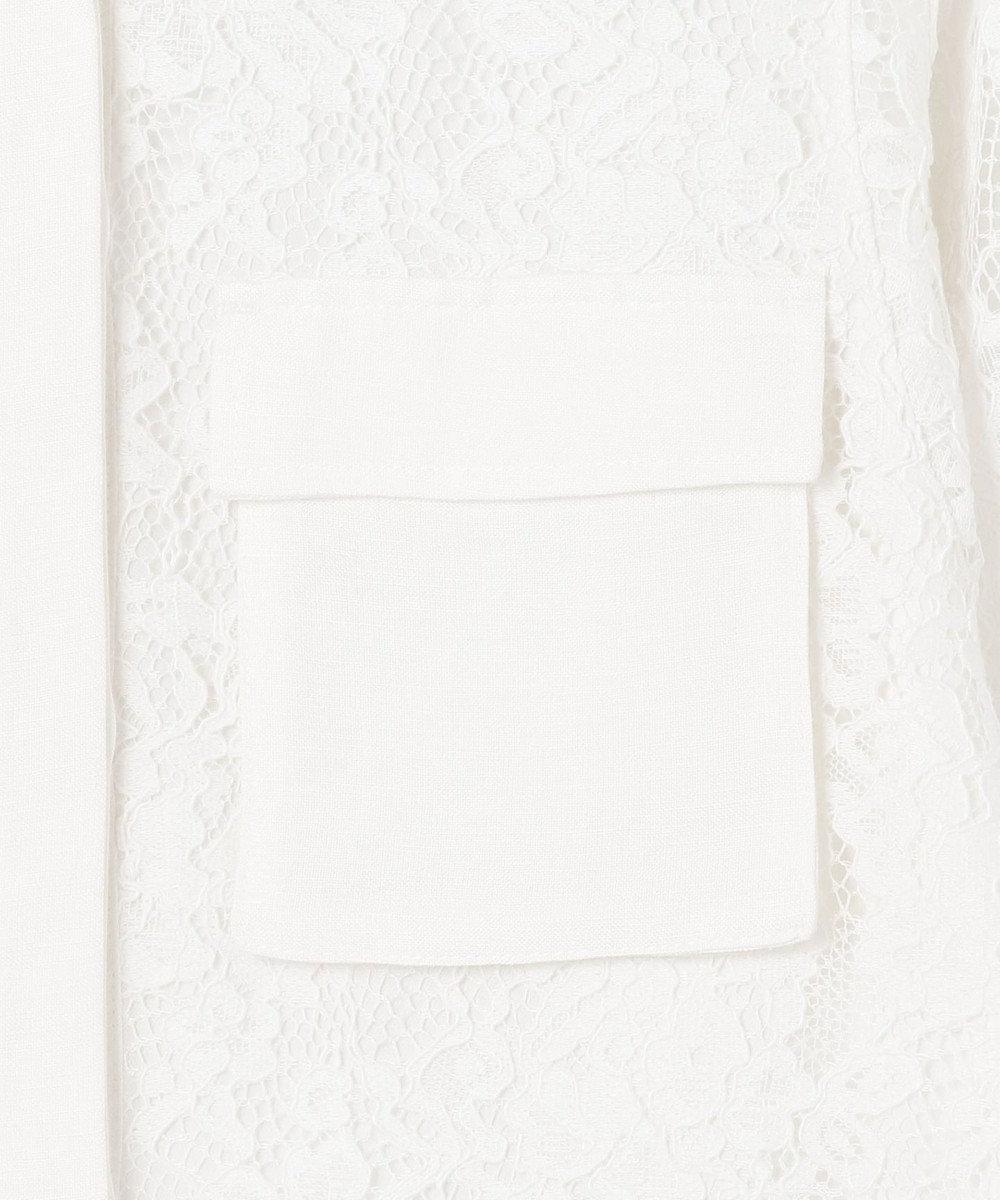 GRACE CONTINENTAL レースカバーオールブルゾン キナリ