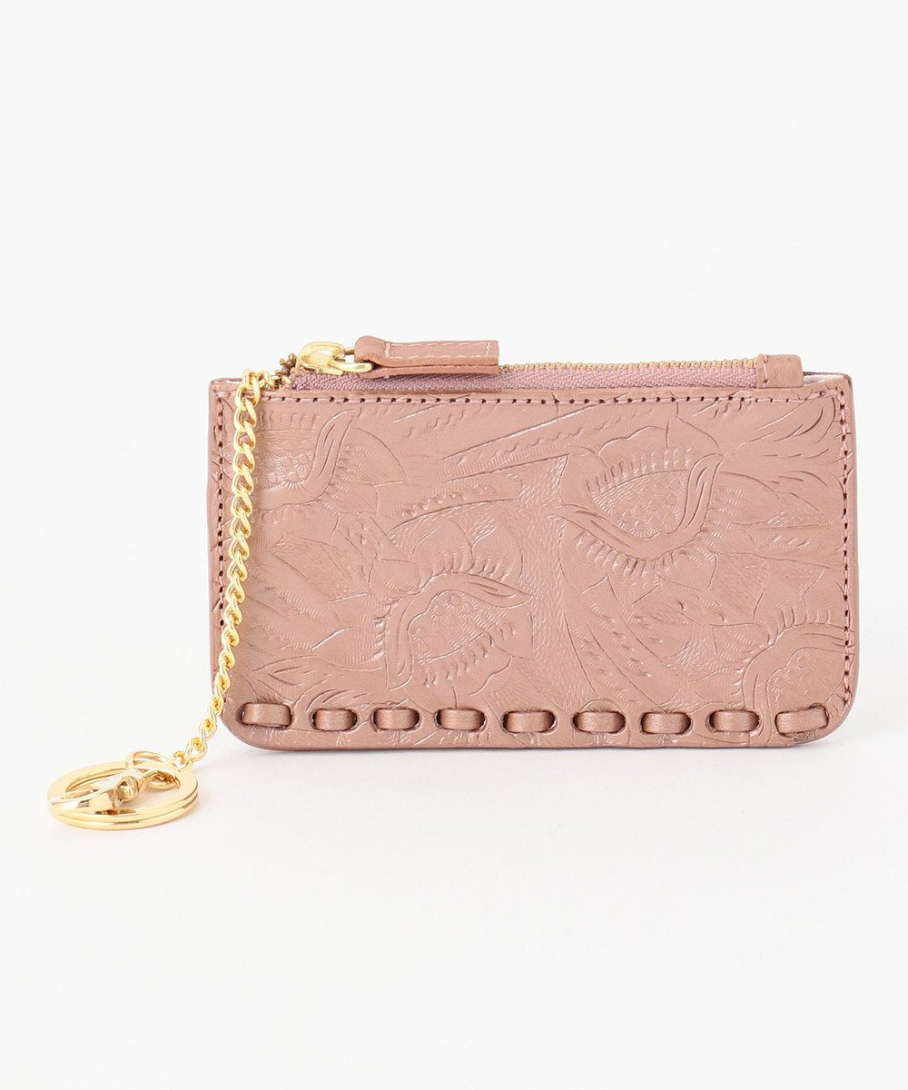 GRACE CONTINENTAL CT Key Pouch ピンクゴールド