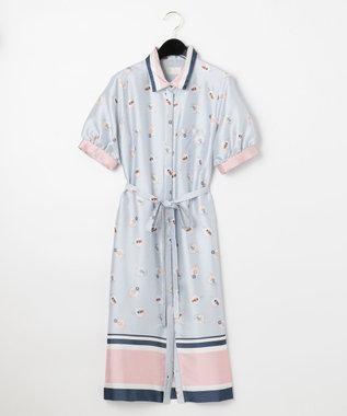 プールサイドシャツワンピース