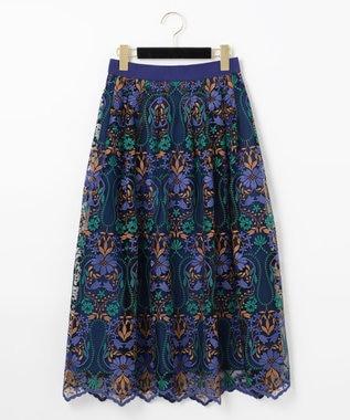 フラワーオーナメントスカート