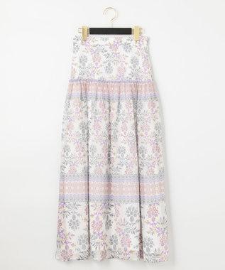 サラサシフォンロングスカート