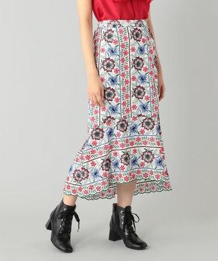 イレヘム刺繍スカート