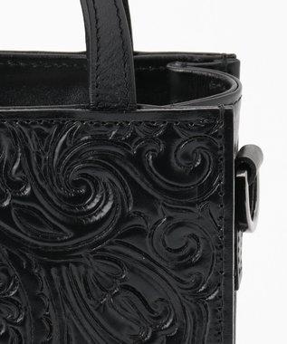 GRACE CONTINENTAL sholder Mini Tote ブラック