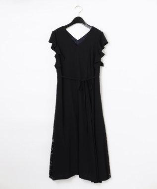 バックレースドレス