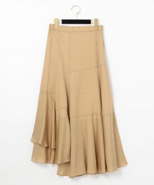 イレギュラーフレアロングスカート