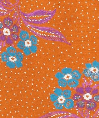 GRACE CONTINENTAL フラワードットプリントノースリーブ オレンジ