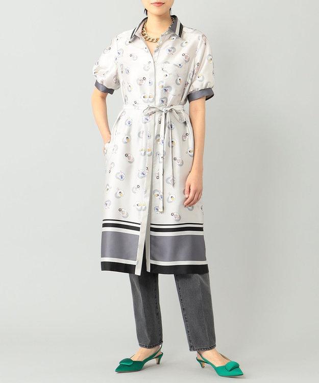 GRACE CONTINENTAL プールサイドシャツワンピース