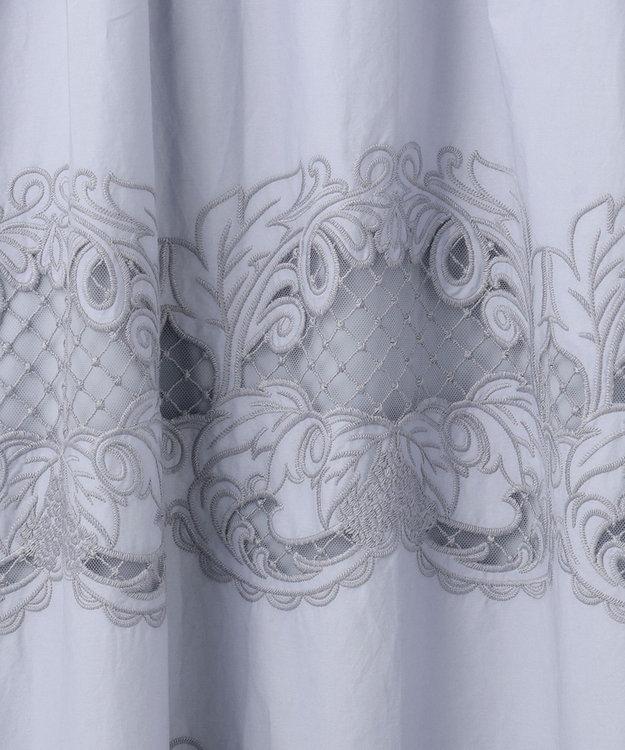 GRACE CONTINENTAL ダマスク刺繍ワンピース