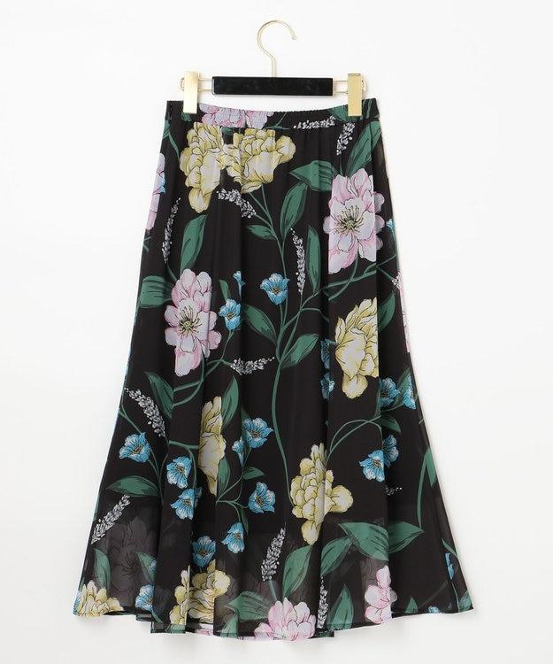 GRACE CONTINENTAL マルチボタニカルスカート