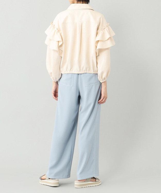 GRACE CONTINENTAL フリルシャツジャケット