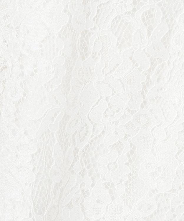 GRACE CONTINENTAL レースカバーオールブルゾン