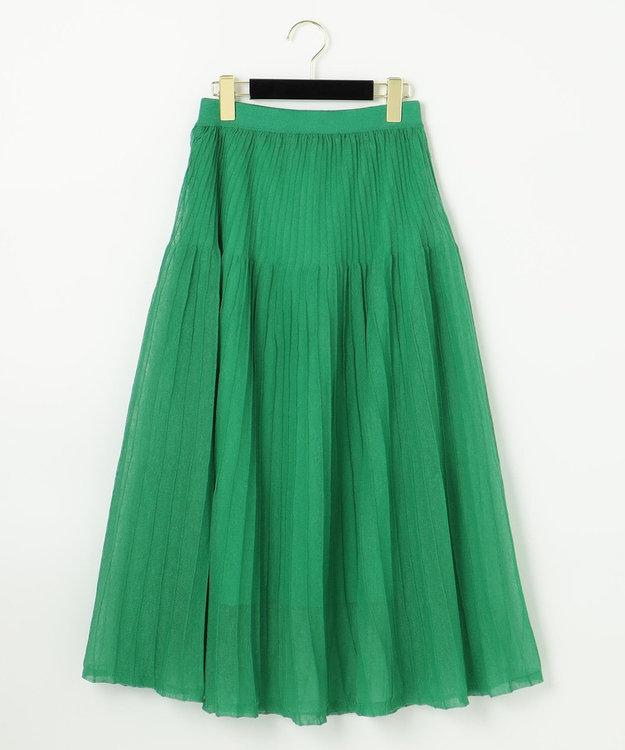 GRACE CONTINENTAL シアーニットスカート